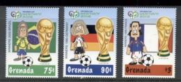 Grenada 2006 World Cup Soccer Germany MUH - Grenada (1974-...)