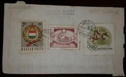 O) 1958 HUNGARY, HORSE JUMPING HURDLE, ARMS OF HUNGARY, SZTIYA ALADAR, XF - Hungary