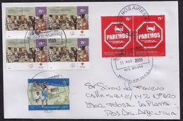 Argentina - 2009 - Lettre - 125 De La Croix-Rouge Argentine - Sécurité Routière - Argentina