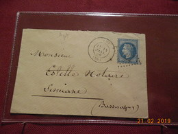 Lettre De 1869 Au Depart De Apt A Destination De Simiane - Marcophilie (Lettres)