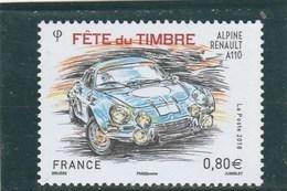 FRANCE 2018 FETE DU TIMBRE ALPINE RENAULT A110 NEUF - YT 5204 - France