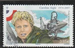 FRANCE 2014 CAROLINE AIGLE POSTE AERIENNE OBLITERE  - PA78 -  PA 78 - - Poste Aérienne