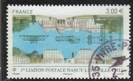 FRANCE 2012 NANCY LUNEVILLE YT PA 75 OBLITERE  - - Poste Aérienne