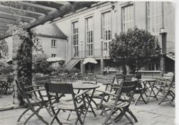 "AK 0166  Oelsnitz ( Erzgebirge ) - Clubhaus "" Hans Marchwitza "" , Terrasse / Ostalgie , DDR Um  1964 - Oelsnitz I. Erzgeb."