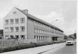 """AK 0166  Riesa ( Elbe ) - Ortsteil Merzdorf ( Polytechnische Oberschule """" Otto Grotewohl """" / Ostalgie , DDR Um  1972 - Riesa"""