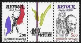 N° 2369 A Triptyque De La Victoire, Faciale 5 Francs Année 1985 - France