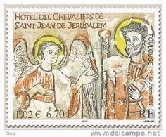 N° 3385 Hôtel Des Chevaliers De St Jean De Jérusalem, Faciale 1,02 € - France