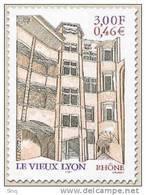 N° 3390  Le Vieux Lyon, Faciale 0,46 € - France