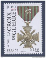 N° 4942 La Croix De Guerre Faciale 0,76 € - France