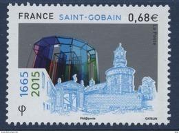 N° 4984 350e Anniversaire De L'entreprise St Gobain, Faciale 0,68 € - France