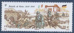 N° 5063 Bataille De Verdun Faciale 0,70 Euro - France