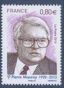 N° 5073 Pierre Mauroy Faciale 0,80 € - France