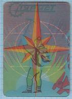 Soviet Union / USSR/ RUSSIA /Ukrainian SSR /Ukraine /Tourism / Kiev Tourist / Pocket Calendar/ Stereo/3D/1977 - Calendars