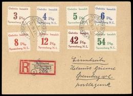 1946, Deutsche Lokalausgabe Spremberg, 7-14 A, Brief - Deutschland