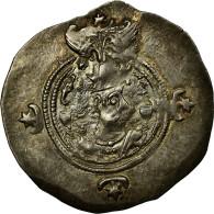 Monnaie, Royaume Sassanide, Chosroès II, Drachme, BYS (Bishapur), TTB+, Argent - Orientales