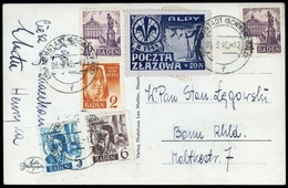 1948, Französische Zone Baden, 28-30 U.a., Brief - Französische Zone