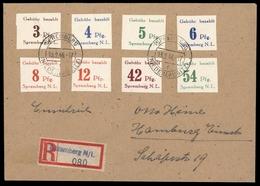 1946, Deutsche Lokalausgabe Spremberg, 7-14 B, Brief - Deutschland
