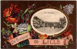 3YO 431 CPA - UN BONJOUR DE LILLE - Lille