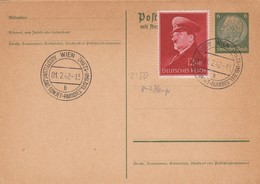 Blanko Sonderstempelbeleg 1942: Wien: Ausstellung Das Sowjet-Paradies - Alemania