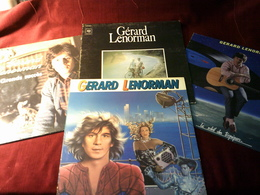 GERARD LENORMAN   ° COLLECTION DE 12 VINYLES - Vinyles