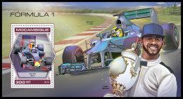 MOZAMBIQUE 2018 MNH** Formula 1 Formel 1 Formule 1 S/S - OFFICIAL ISSUE - DH1840 - Automovilismo