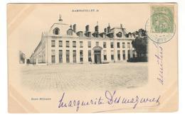 14291 - GARE DE RAMBOUILLET En Bleu - Marcophilie (Lettres)
