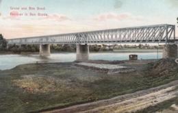 AK - Bosn. Herzeg. Gruss Aus Bos Brod - Alte Eisenbahnbrücke - 1919 - Bosnien-Herzegowina