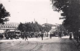 AK - Wien - Strassenbahnen - Vorortelinie - Brücke über Die Hernalser Hauptstr. - Wien
