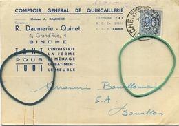 Binche :  R. Daumerie - Quinet   (  Zie Scans ) - Binche
