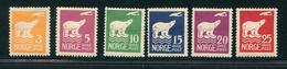 NORVEGE 1925 N°102 / 107 Expédition AMUNDSEN Au Pôle Nord  Voir Photo - Norvège