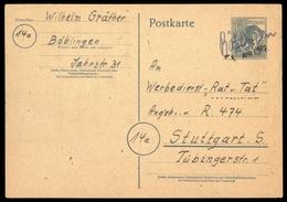 1947, Gemeinschaftsausgaben, P 954, Brief - Gemeinschaftsausgaben
