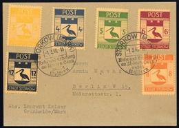1946, Deutsche Lokalausgabe Storkow, 9-14 A, Brief - Deutschland