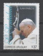Uruguay, MNH, Pope John Paul II - Papas