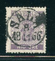 SUEDE 1858 / 1870  N°7 Dentelé 14 Valeur En Öre Tout état Voir Photo - Schweden