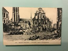 LOUVAIN - Après Le Bombardement - Guerre 1914-1915 - België