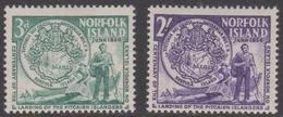 Norfolk Island ASC 21-22 1956 Pitcainers, Mint Hinged - Norfolk Island
