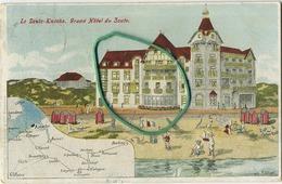 Knokke - Le Zoute : Grand Hotel De Zoute  (  Ecrit 1913 Avec Timbre  :  Cachet De La Poste  '  ZOUTE '  ) - De Haan