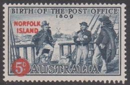 Norfolk Island ASC 25 1959 Post Office, Mint Hinged - Norfolk Island