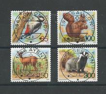 2018 ZNr 1669-1672 OBLITÉRATIONS PLEINES (1901) - Schweiz