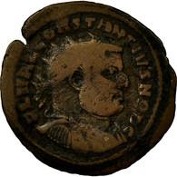 Monnaie, Constance I, Fraction Æ, AD 303, Carthage, TB, Bronze, RIC:35a - 6. La Tétrarchie (284 à 307)