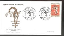 FDC   1967 UNION MONETAIRE AFRICAINE - Mauritanie (1960-...)