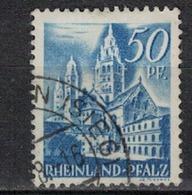 ALLEMAGNE RHENANIE          N°  YVERT    11   OBLITERE       ( O   2/53 ) - Zone Française