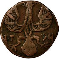 Monnaie, Etats Allemands, AACHEN, 12 Heller, 1794, TB, Cuivre, KM:51 - [ 1] …-1871 : Etats Allemands