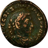 Monnaie, Constantin I, Follis, AD 307-308, Lyon - Lugdunum, TB, Bronze, RIC:259 - 7. L'Empire Chrétien (307 à 363)