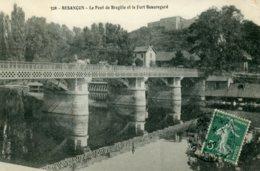 Piece Sur Le Theme De Besancon - Le Pont De Bregille - Besancon