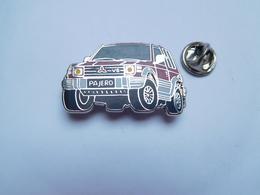 Beau Pin's En Zamac , Auto 4x4 V6 Mitsubishi Pajero , Rouge - Mitsubishi
