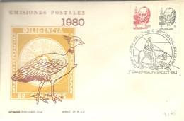 FDC 1980 - Uruguay
