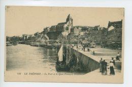 Piece Sur Le Theme De Le Treport - Le Port Et Le Quai Francois 1Er - Le Treport