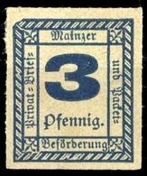 Deutsches Reich Stadtpost, C 52, * - Privatpost