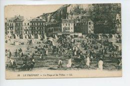 Piece Sur Le Theme De Le Treport - La Plage Et Les Villas - Le Treport